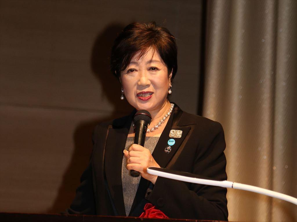 小池百合子都知事が語った2020東京オリパラへの取り組み