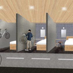 大三島に自転車専用ホテル、しまなみ海道の拠点施設に