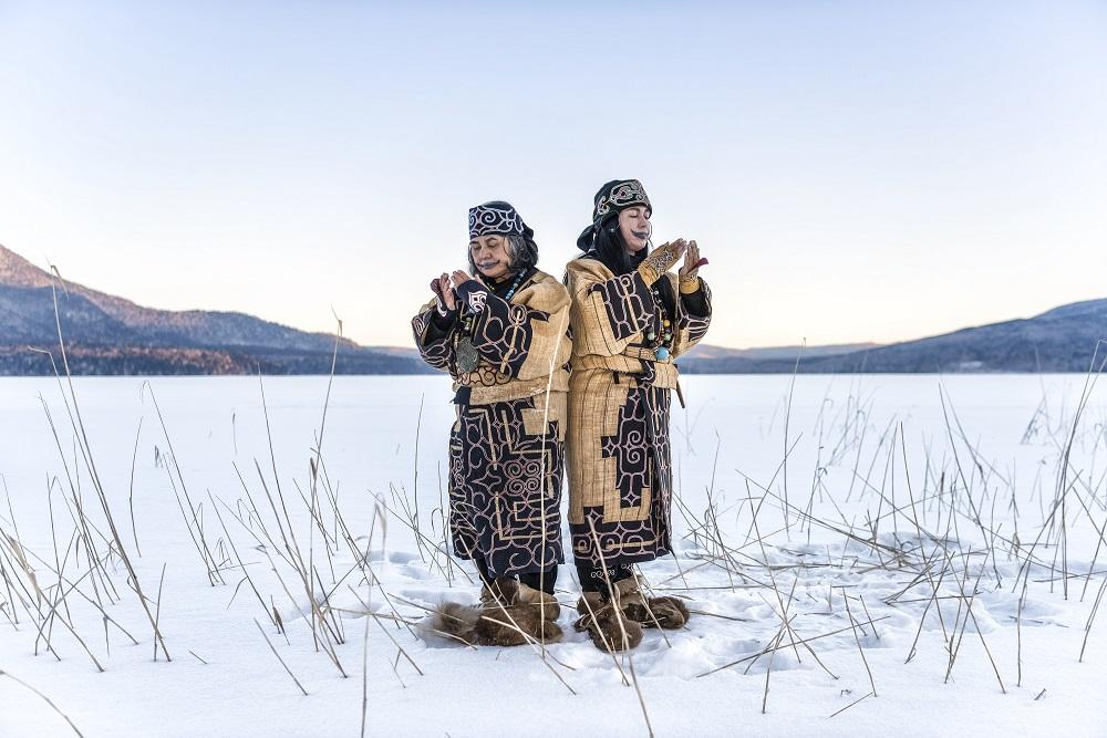 アイヌ普及へ新プログラム、デジタルアートと古式舞踊を融合