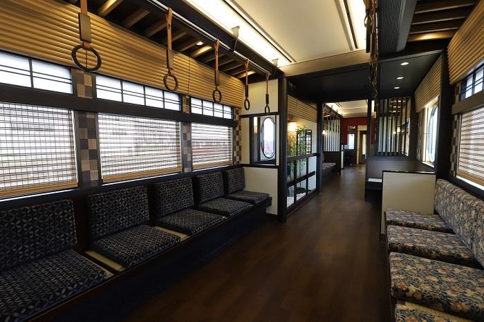 阪急電車の京とれいん雅洛がデビュー、和モダンがコンセプト