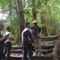 語り部と行く世界遺産熊野の道と川湯温泉 経営塾OB会が研鑽ツアー