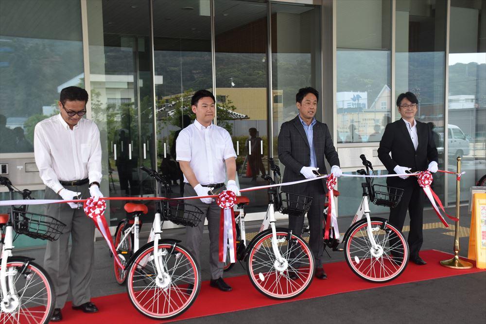 有田市がシェアサイクル推進へ、市内10カ所に駐輪ポート設置
