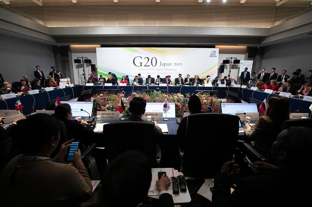 観光のSDGs貢献推進を宣言 G20観光大臣会合