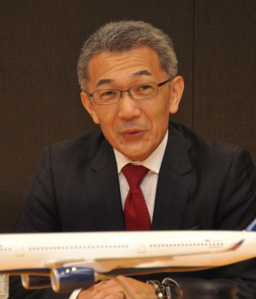 「社運賭けた羽田線、成功に導く」デルタ航空日本支社長大隅ヴィクター氏