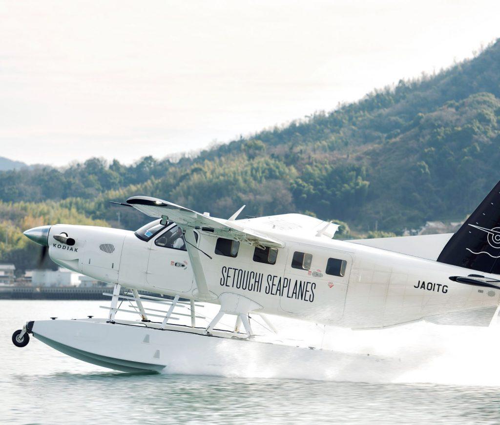 広島空港起点に水陸遊覧便、せとうちの多島美の魅力を満喫