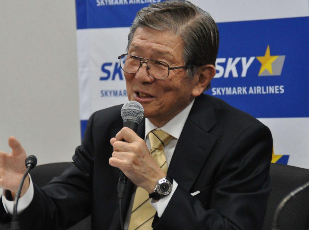 「知見生かし 航空業界の中心部へ」スカイマーク代表取締役社長の洞駿氏