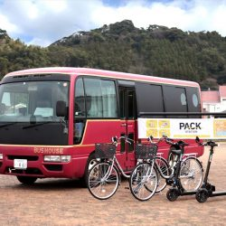 日南市が可動式滞在施設 宿泊と移動の課題解消へ実証実験