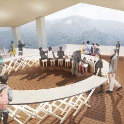 箱根ゴールデンルートに新スポット 展望デッキや足湯完備