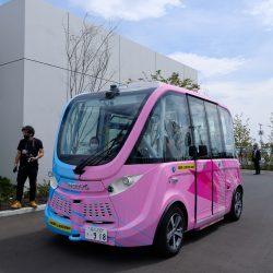 羽田スマートシティ本格稼働、自律走行バスが定常運行