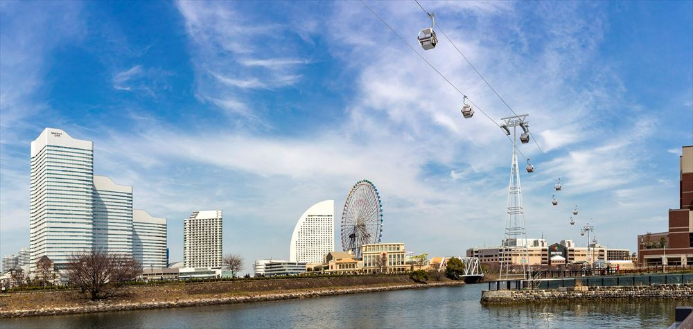 横浜に都市型ロープウェイ、桜木町駅と新港ふ頭が直結