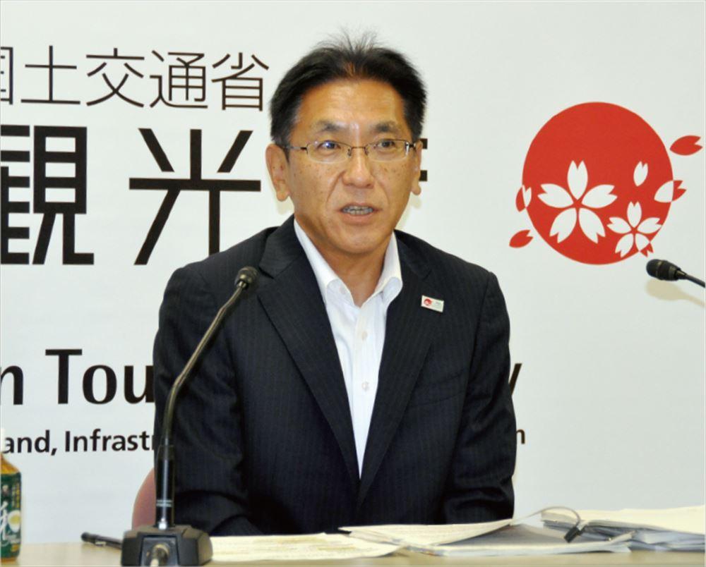 和田長官、長期的戦略で政策推進 コロナ禍の観光行政で所信表明
