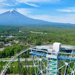 地上55mから富士山一望、富士急ハイランドエリア内に新展望台