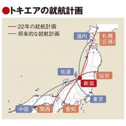 新潟に格安地域航空会社誕生へ トキエア、札幌・関西等へ就航